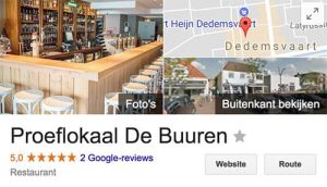 lokale vindbaarheid google reviews