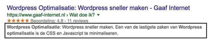 lokale vindbaarheid meta description